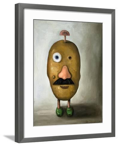 Misfit Potato 2-Leah Saulnier-Framed Art Print