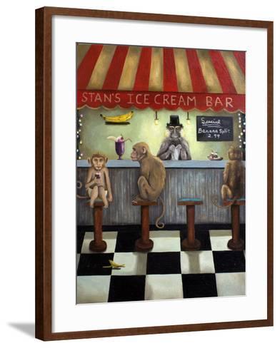 Monkey Business-Leah Saulnier-Framed Art Print
