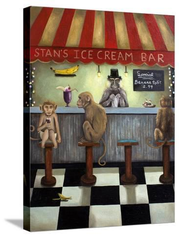 Monkey Business-Leah Saulnier-Stretched Canvas Print