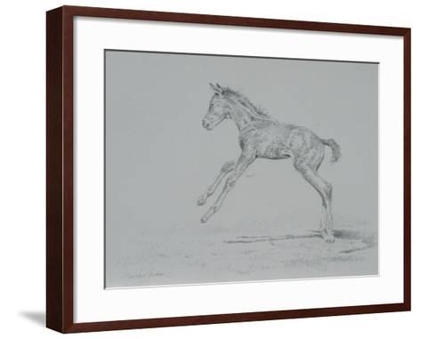 Foal Sketch-Michael Jackson-Framed Art Print