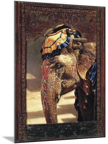 Painted Lady with Frame-Michael Jackson-Mounted Giclee Print