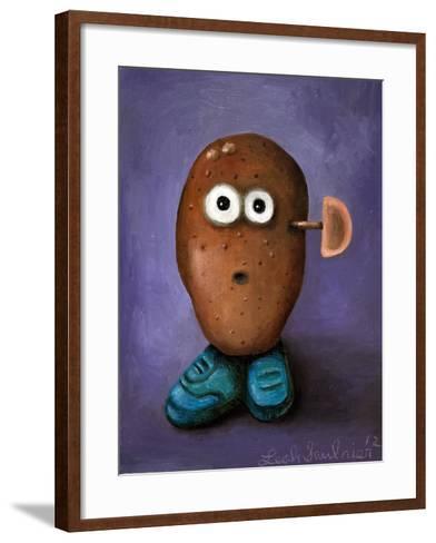Misfit Potato 3-Leah Saulnier-Framed Art Print