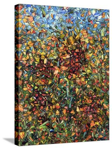 Sunflowers-James W. Johnson-Stretched Canvas Print