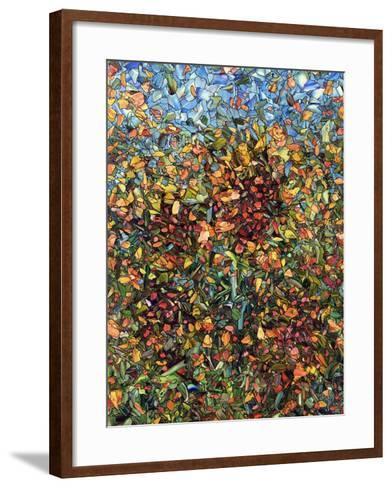 Sunflowers-James W. Johnson-Framed Art Print