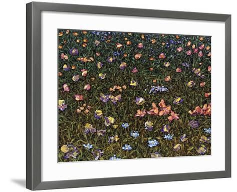 Wildflowers-James W. Johnson-Framed Art Print