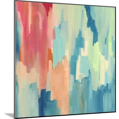 Color Theory Abstract-Jennifer McCully-Mounted Giclee Print