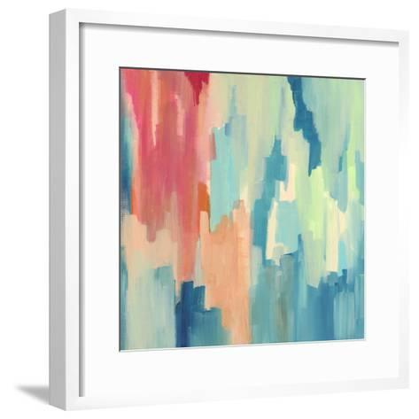 Color Theory Abstract-Jennifer McCully-Framed Art Print