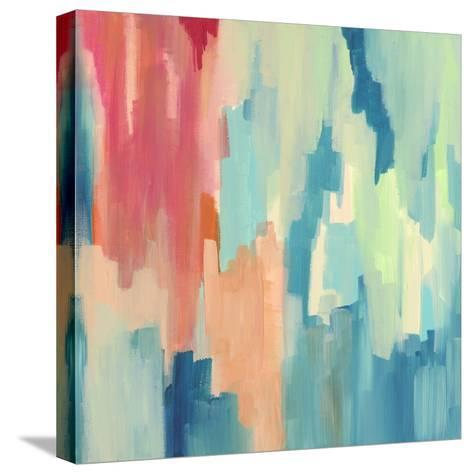 Color Theory Abstract-Jennifer McCully-Stretched Canvas Print