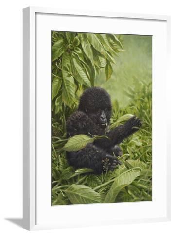 Prince of the Virungas-Michael Jackson-Framed Art Print