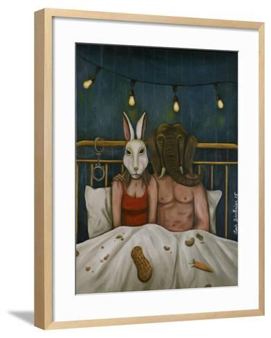 Fetish Nightmare #4-Leah Saulnier-Framed Art Print