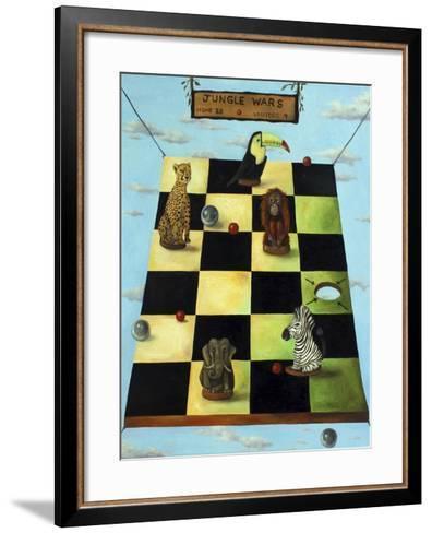 Jungle Wars-Leah Saulnier-Framed Art Print