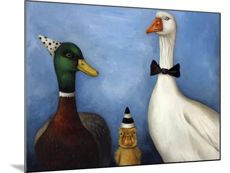 Duck Duck Goose-Leah Saulnier-Mounted Giclee Print