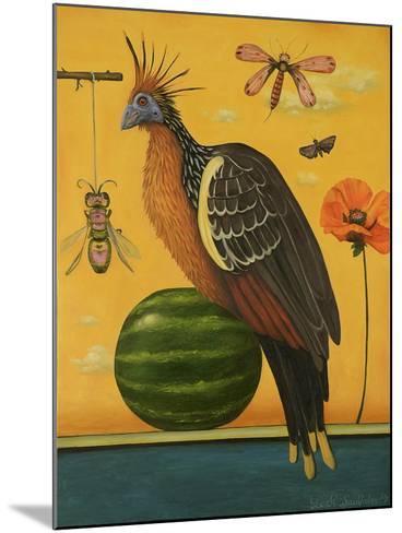 Hoatzin 2-Leah Saulnier-Mounted Giclee Print