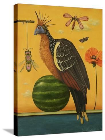 Hoatzin 2-Leah Saulnier-Stretched Canvas Print