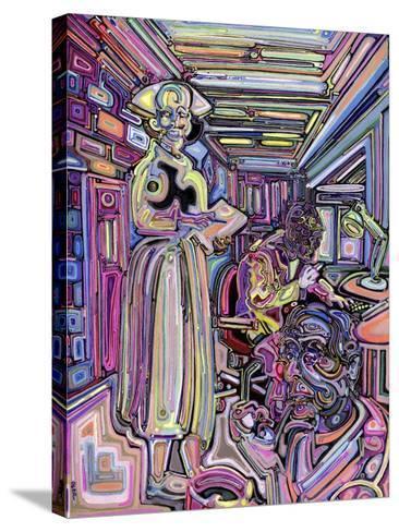 Lab-Josh Byer-Stretched Canvas Print