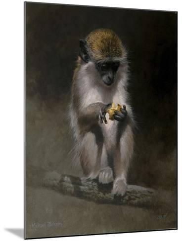 Monkey-Michael Jackson-Mounted Giclee Print
