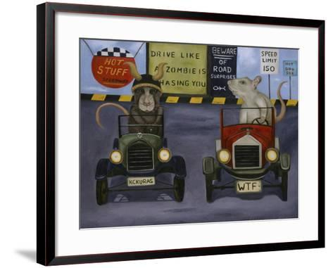 Rat Race #4-Leah Saulnier-Framed Art Print