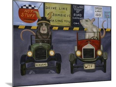 Rat Race #4-Leah Saulnier-Mounted Giclee Print