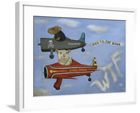Ratrace #5-Leah Saulnier-Framed Art Print