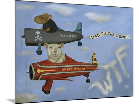 Ratrace #5-Leah Saulnier-Mounted Giclee Print