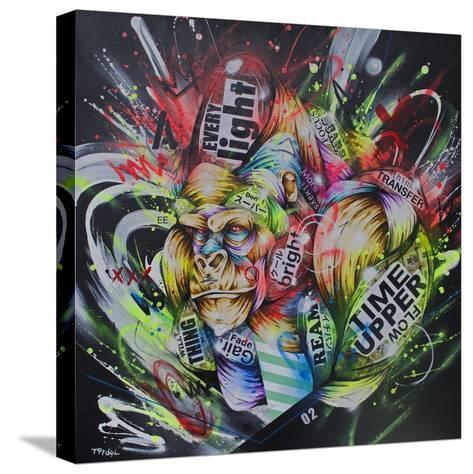 Where the night falls-Taka Sudo-Stretched Canvas Print