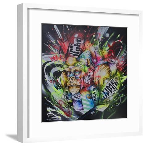 Where the night falls-Taka Sudo-Framed Art Print