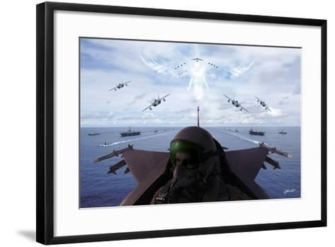Angels Overhead 1-Jason Bullard-Framed Art Print