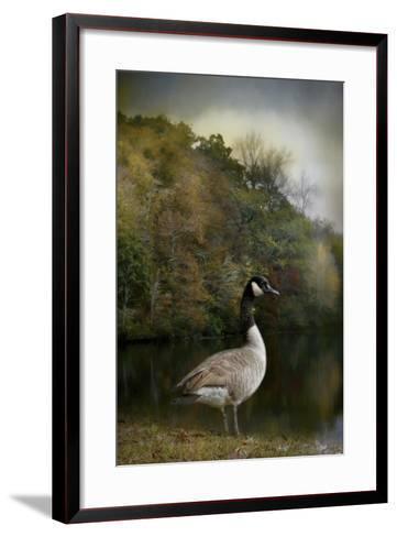 The Canadian Goose-Jai Johnson-Framed Art Print