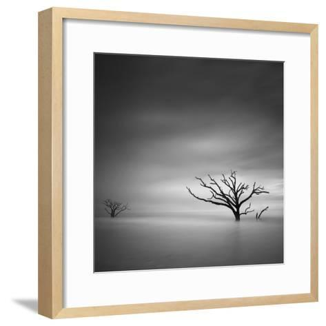 Alone-Moises Levy-Framed Art Print