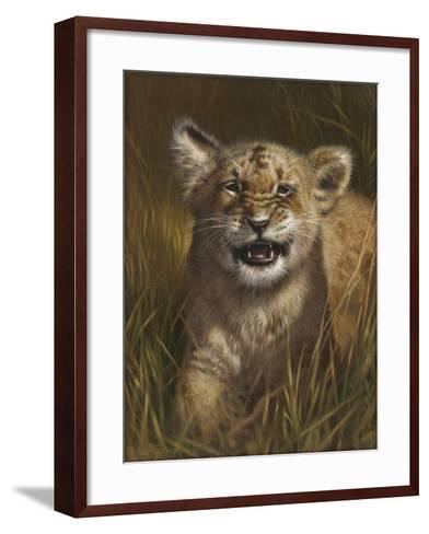 Baby Cub-Michael Jackson-Framed Art Print