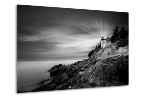 Acadia 49 BN Y Color Rayos-Moises Levy-Metal Print