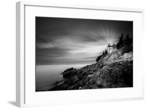 Acadia 49 BN Y Color Rayos-Moises Levy-Framed Art Print