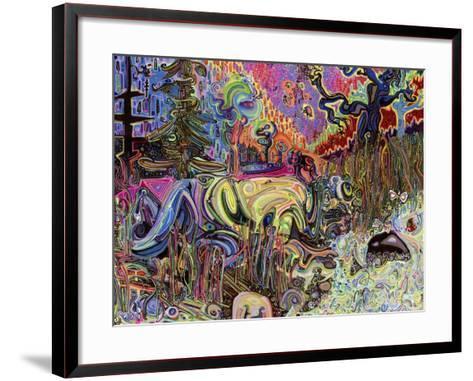 Water-Josh Byer-Framed Art Print
