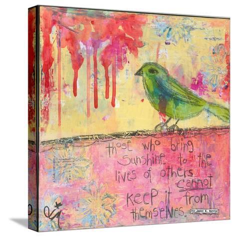Sunshine Bird-Jennifer McCully-Stretched Canvas Print