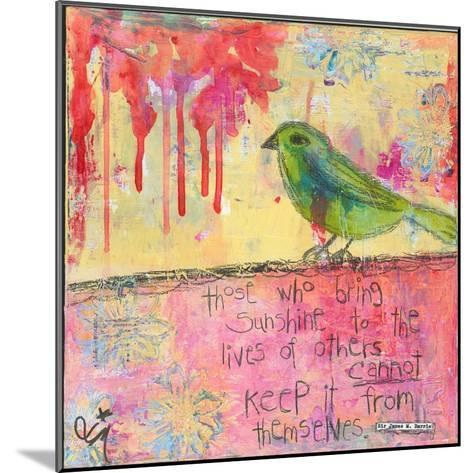 Sunshine Bird-Jennifer McCully-Mounted Giclee Print