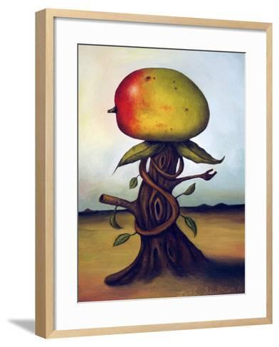 Mango Fruit Tree-Leah Saulnier-Framed Art Print