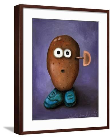 Misfit Potato 1-Leah Saulnier-Framed Art Print