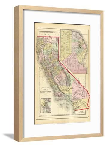 California 1886-Marcus Jules-Framed Art Print