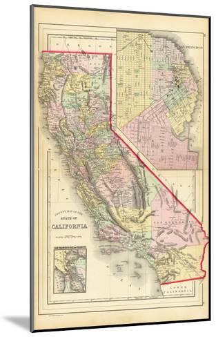California 1886-Marcus Jules-Mounted Giclee Print