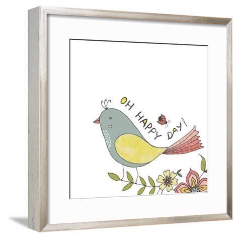 Happy Day-Jyotsna Warikoo-Framed Art Print