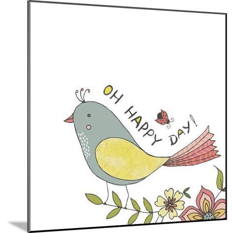 Happy Day-Jyotsna Warikoo-Mounted Giclee Print