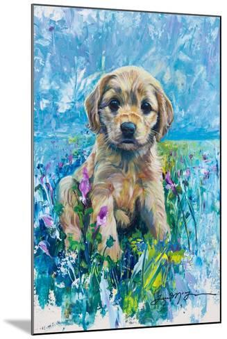 Cocker Spaniel Puppy Love-Lucy P. McTier-Mounted Giclee Print