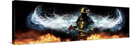Fireman 11-Jason Bullard-Stretched Canvas Print