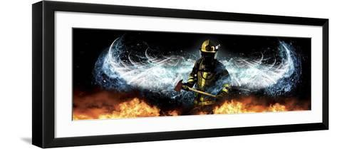 Fireman 11-Jason Bullard-Framed Art Print