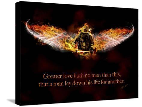 Fireman-Jason Bullard-Stretched Canvas Print