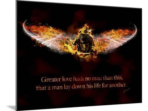 Fireman-Jason Bullard-Mounted Giclee Print