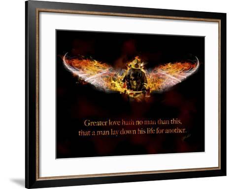 Fireman-Jason Bullard-Framed Art Print