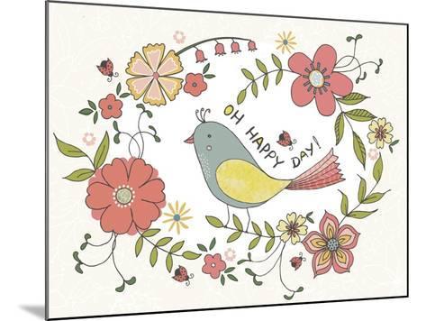 Oh Happy Day-Jyotsna Warikoo-Mounted Giclee Print