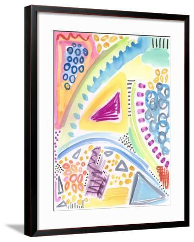The Process - Watercolor-Jennifer McCully-Framed Art Print