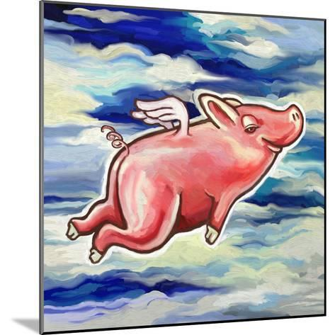 Flying Pig-Howie Green-Mounted Giclee Print